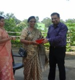 Chief guest for closing ceremony-Mrs.Chandra Sharan