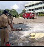 Demonstration on Fire Extinguisher