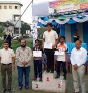 1.L.sai of std VI won bronze medal in under -12 ,indian round.