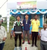 1.Mohit kumar of Std IX won bronze medal in under -14,compound round.