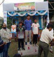 1.Yogesh kumar of std VII won bronze medal in u-12,recurve round.