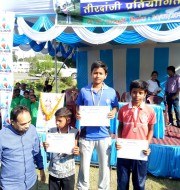 Prince Kumar silver medal in under -10 ,Indian round