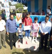 Satyam singh UKG won silver medal in u-05 ,Indian round.